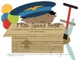 I Can Speed Read {Treasures Unit Three}