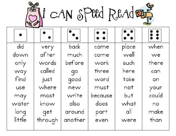 I Can Speed Read {Valentine's Day}