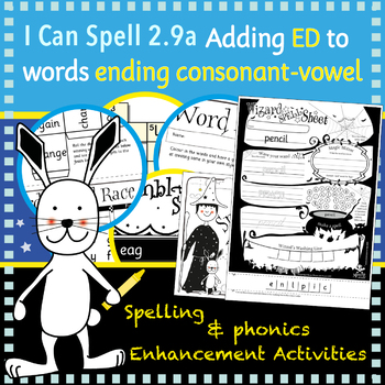 I Can Spell: Age 5-7 | Adding ED to words ending consonant-vowel