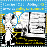 I Can Spell: Age 5-7 | Adding ING to words ending consonant-e