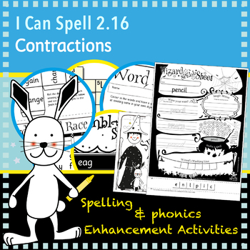 I Can Spell: Age 5-7 | Contractions