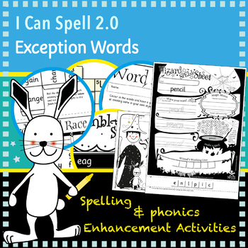 I Can Spell: Age 5-7 | Exception Words