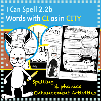 I Can Spell: Age 5-7 | Words with CI as in CITY