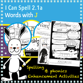 I Can Spell: Age 5-7   Words with J