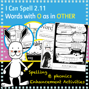 I Can Spell: Age 5-7 | Words with O as in OTHER