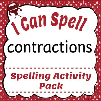 I Can Spell: Contractions