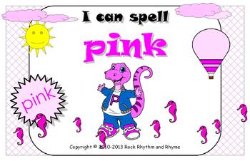I Can Spell Pink – Literacy and Reading Unit
