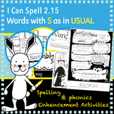 I Can Spell: Age 5-7 | Words with S as in USUAL
