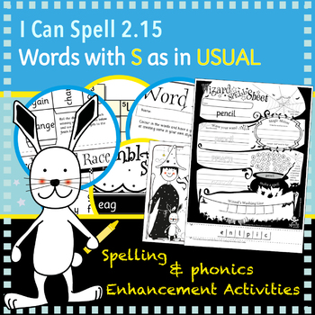 I Can Spell: Plurals ending with S and ES