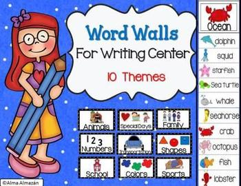 Word Walls for Writing Center