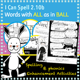 I Can Spell: Age 5-7 | Words with ALL as in BALL