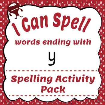 I Can Spell: Words Ending with y