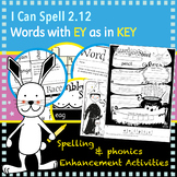 I Can Spell: Age 5-7 | Words with EY as in KEY