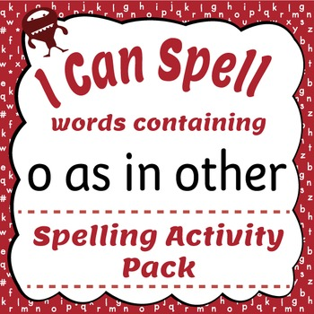 I Can Spell: Words with O as in other