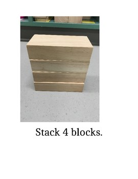 I Can Stack Blocks Social Story