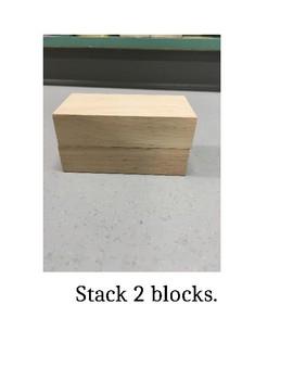 I Can Stack Blocks Social Story