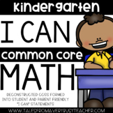 I Can Statement Booklets {Kindergarten}