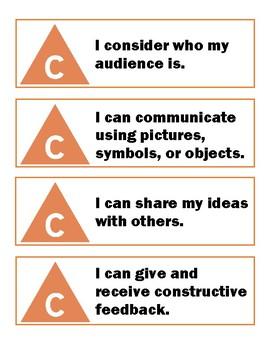 I Can Statements - Communication