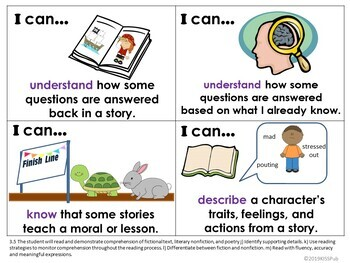 I Can...Statement Posters for 3rd Grade VA SOL's