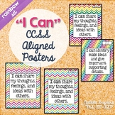 I Can Statement Posters for Speech Language Therapy Aligne