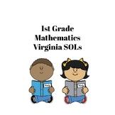 I Can Statements - Virginia 1st Grade Math SOLs
