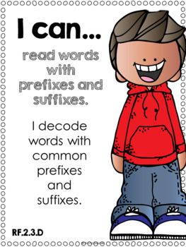 I Can Statements {ELA} Second Grade