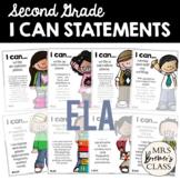 I Can Statements Second Grade ELA