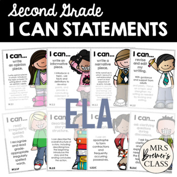 I Can Statements {ELA}