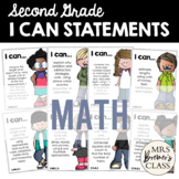 I Can Statements Second Grade Math