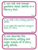 I Can Statements - 1st Grade