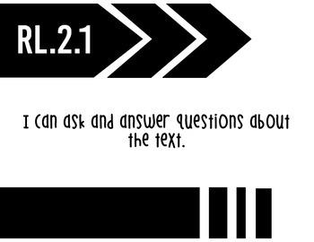 I Can Statements- 2nd Grade ELA