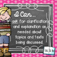 I Can Statements 2nd Grade ELA {Editable} - Chalkboard & Polka Dot