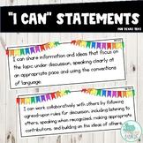 I Can Statements 2nd Grade ELAR