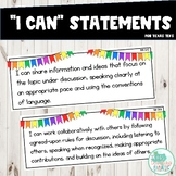 I Can Statements 2nd Grade ELAR