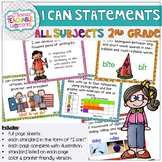 2nd Grade TEKS I Can Statements All Subjects