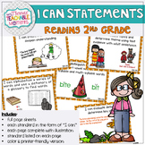 I Can Statements 2nd Grade TEKS Reading