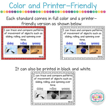 I Can Statements 2nd Grade TEKS Science