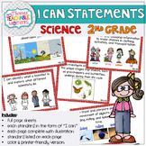 2nd Grade TEKS I Can Statements Science