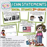 2nd Grade TEKS I Can Statements Social Studies