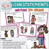 2nd Grade TEKS I Can Statements Writing