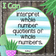 I Can Statements 3rd Grade MATH {Editable} - Gray Shiplap & Cactus