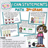 I Can Statements 3rd Grade TEKS Math