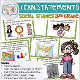 I Can Statements 3rd Grade TEKS Social Studies