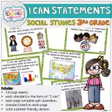 3rd Grade TEKS I Can Statements Social Studies