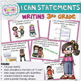I Can Statements 3rd Grade TEKS Writing