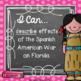 I Can Statements - 4th Grade SOCIAL STUDIES - Florida - Chalkboard & Polka Dot