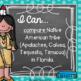 I Can Statements 4th Gr. SOCIAL STUDIES {Editable} - Florida