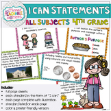 4th Grade TEKS I Can Statements All Subjects