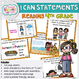 4th Grade TEKS I Can Statements READING