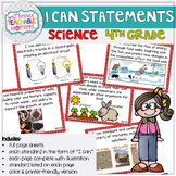 4th Grade TEKS I Can Statements SCIENCE